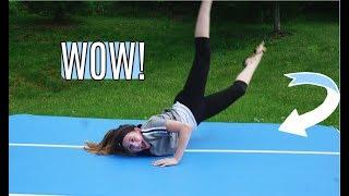 Former Gymnast Tries Gymnastics!!  *SHOCKING*