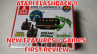 Atari Flashback 9 First Review:  New Games plus SD card slot!