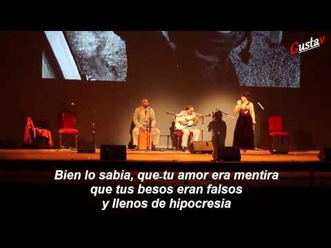 """Sara Van - """"MALA SOMBRA""""  (presentación en el teatro municipal 2013)"""