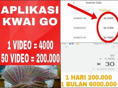 CARA MENGHASILKAN UANG DENGAN UPLOAD VIDEO DI APLIKASI KWAI GO ...