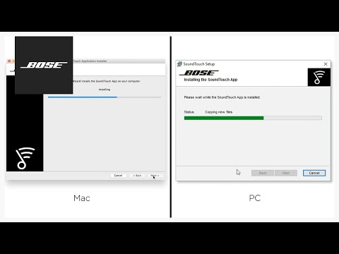 Bose SoundTouch App – Setup Using A Mac Or PC