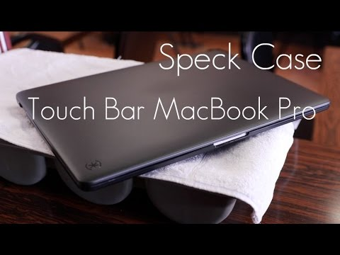 quality design b3995 e6d3a Speck Smartshell Case - 2016 / 2017 MacBook Pro / Touch Bar - Review / Demo