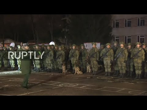 LIVE from Nakhabino airbase as Russian troops return home from Syria