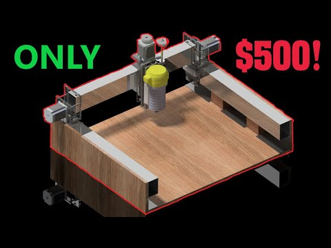 LARGE DIY CNC MILL FOR $500