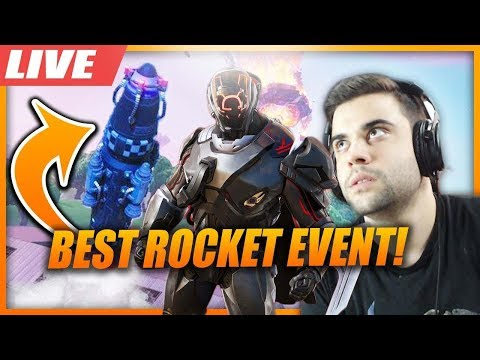 FORTNITE BEST EVENT ! ROKET FIRLATILIYOR - (YENİ SEZON GELİYOR)
