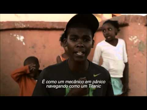 The black music(rap) made from Africa by: Archie Buthelezi || Garoto Africano cantando rap