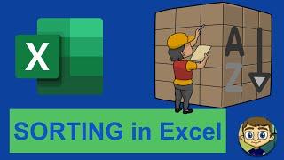 Sorting in Excel - 2018 Excel Tutorial