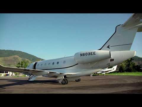 #Embraer #Praetor600 - landing on short runway (Angra dos Reis - RJ, Brazil)