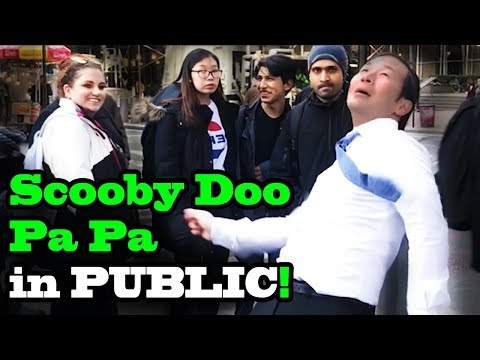 Scooby Doo Pa Pa DANCE IN PUBLIC!!