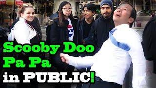 Scooby Doo Pa Pa DANCE IN PUBLIC!!