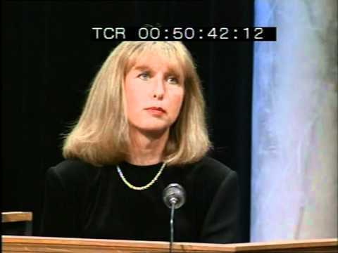 Late Late Show 1992 Abortion Referendum Special - Mary McAleese takes the stand.