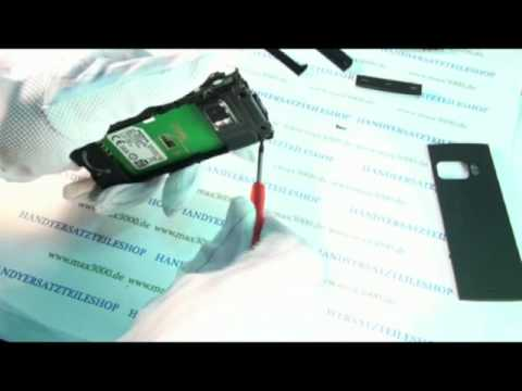 Reparaturanleitung Nokia X6 X6-00 Display Touch Lausprecher Glass reparieren.mp4