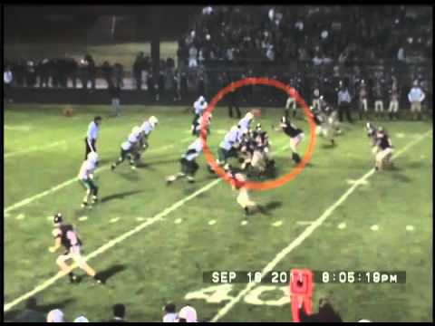 Brandon Roberts Junior Year Football Highlight Film