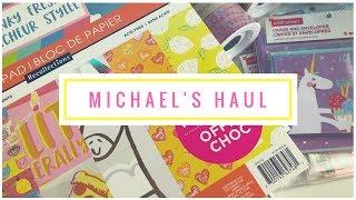 Michael's Haul