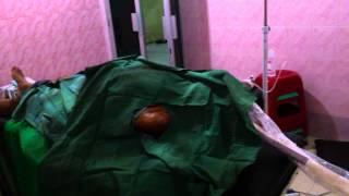 Pasien dibius tiba-tiba lampu operasi terbakar