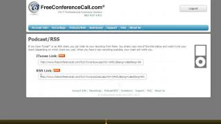Free Conference Call to Mp3 download