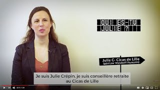 Destination Métiers épisode 5 : Julie Crépin, conseillère retraite au Cicas de Lille