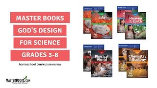 Teaching Gods Design for Science // Homeschool Curriculum by Master Books