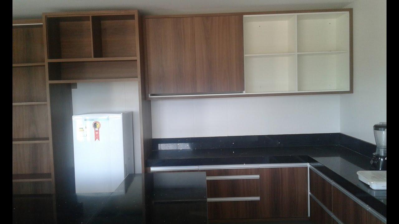 armario de cozinha planejado YouTube