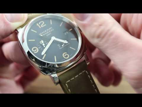 Panerai Radiomir 1940 3 Days GMT Power Reserve Acciaio PAM 658 Functions & Care