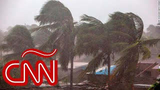 El huracán Eta toca tierra en Nicaragua