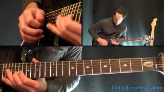 Rock You Like a Hurricane Guitar Lesson - Scorpions - Chords & First Solo