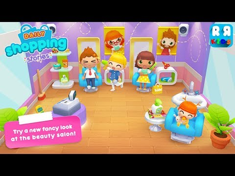 Daily Shopping Stories (By PlayToddlers) - New Best App for Kids | Dress Up, Cooking and Play