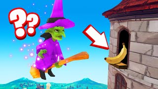 Playing PROP HUNT As A WITCH! (Hide And Seek)