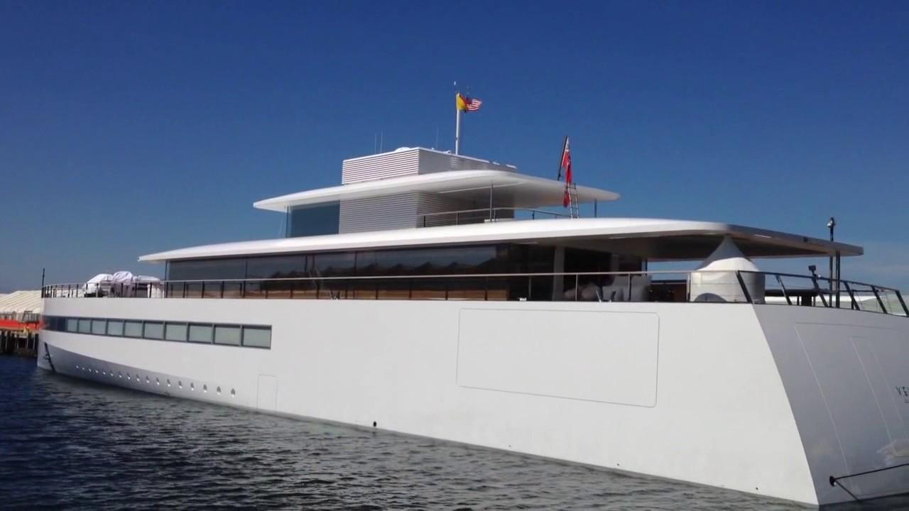Steve Jobs Yacht Venus In San Diego CA 2017