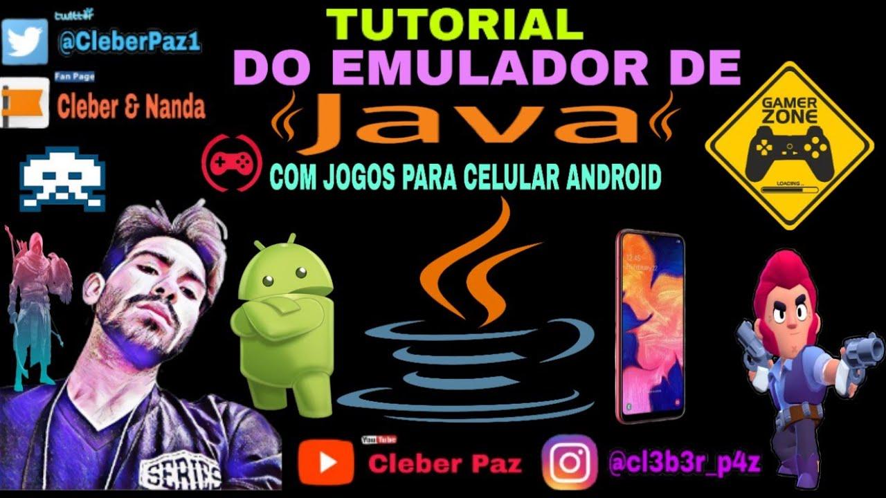 Download Tutorial do EMULADOR de JAVA com JOGOS para CELULAR ANDROID