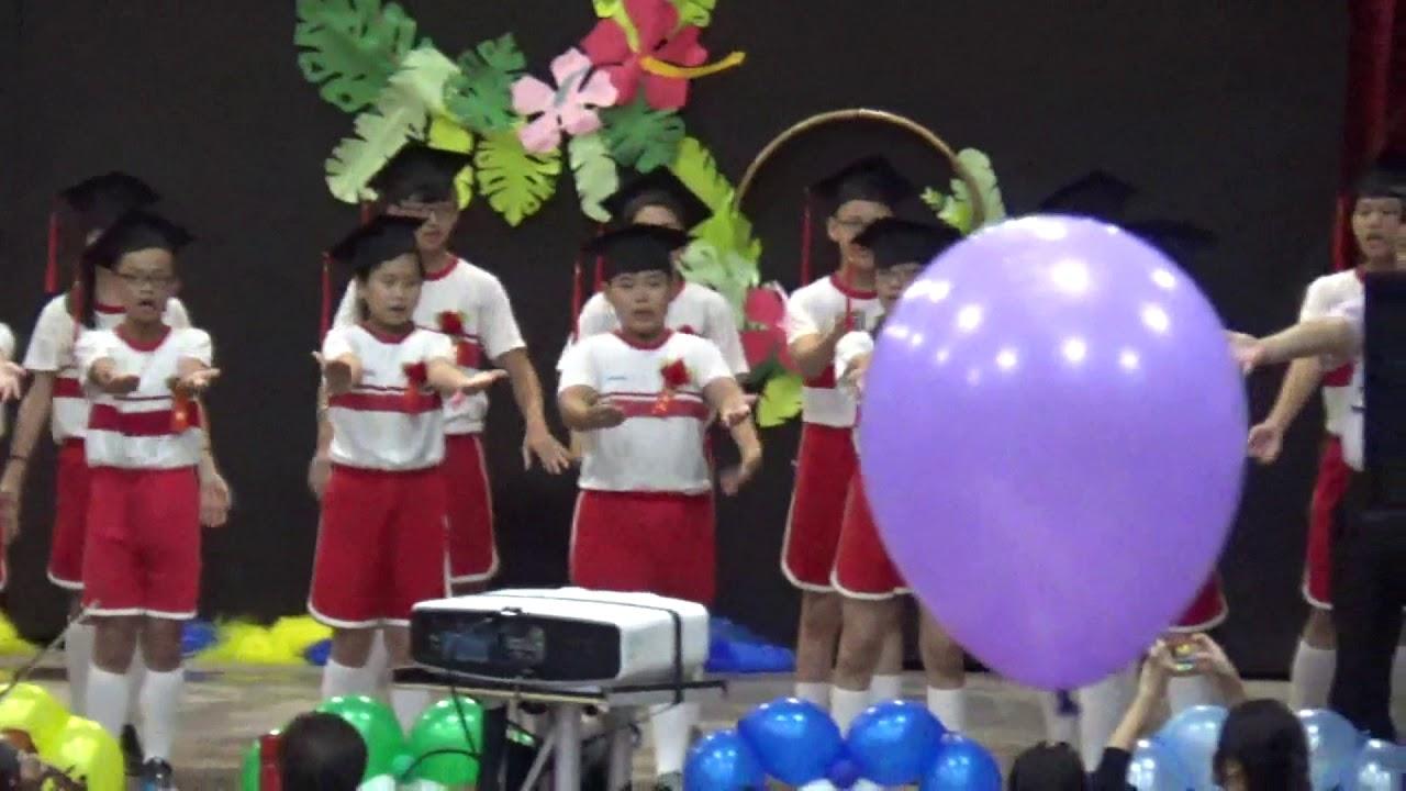 南投縣埔里國小74屆畢業生英文歌曲大合唱 - YouTube