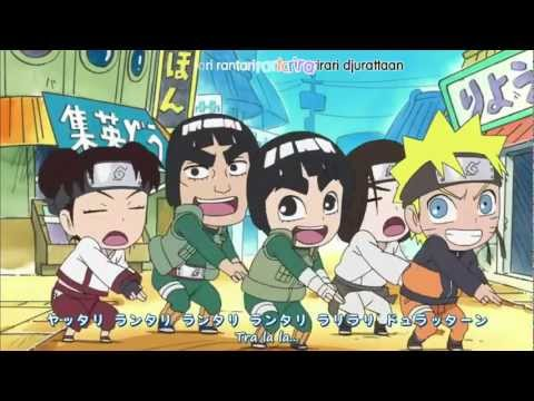 Naruto SD: Rock Lee Official Opening 2 Okamoto's - Lovesong
