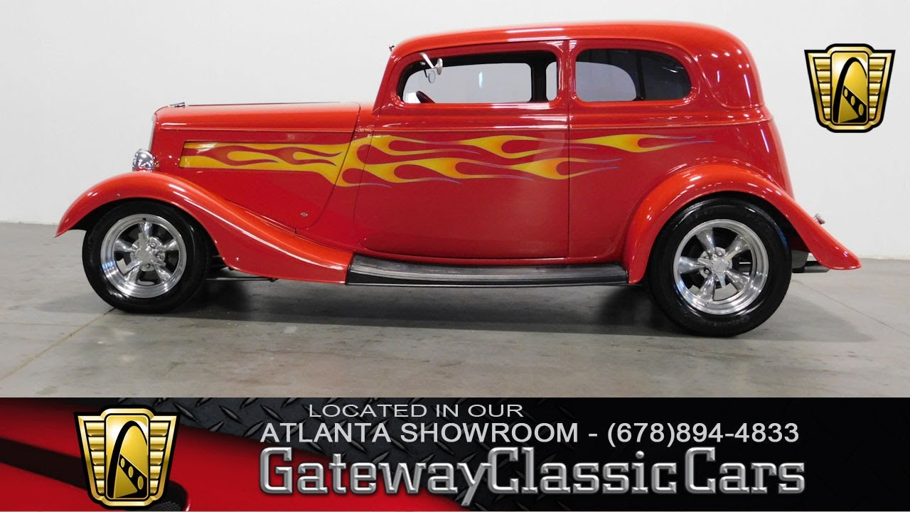1933 Ford Vicky - Gateway Classic Cars of Atlanta #311 - YouTube