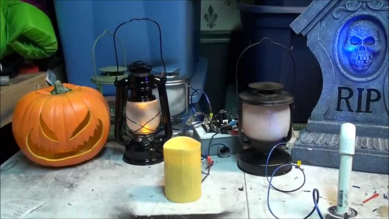 diy halloween lighting. DIY Halloween LED Light System Diy Lighting