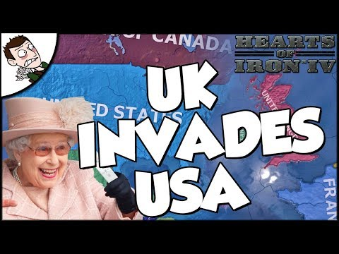 Hearts of Iron 4 HOI4 United Kingdom Strikes the USA