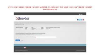 new user registration process online admission
