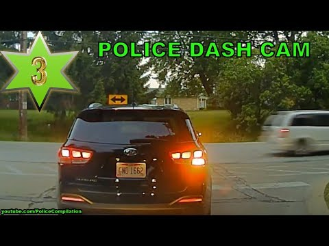Police Dash Cam Compilation, Part 3