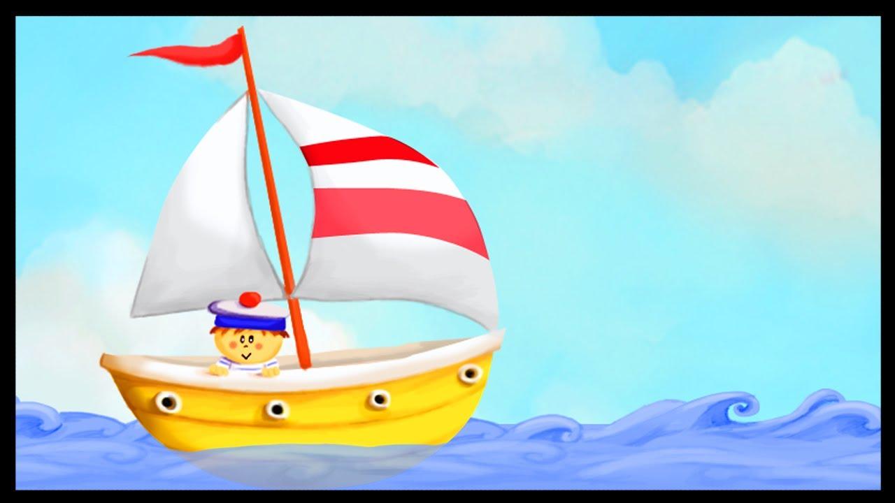 Maman les petits bateaux youtube - Dessin petit bateau ...