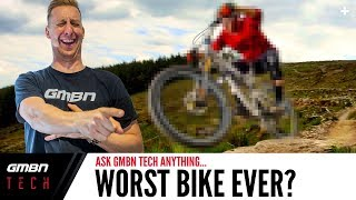The Worst Mountain Bike That Doddy Has Ever Ridden? | Ask GMBN Tech