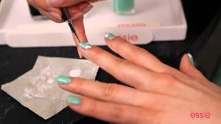 видео Маникюр бирюзового цвета: фото ультрамодного дизайна