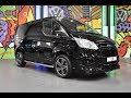 Ford Transit Custom L-Sport Shadow Black Spec Walkround M-Sport