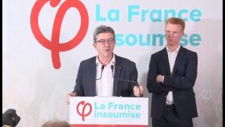 EN DIRECT - Conférence de presse de la France insoumise - #ConfPresseFi