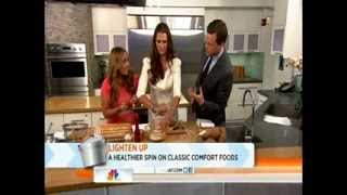 How To Make A Healthy Sweet Potato Gnocchi - Peggy K On The Today Show