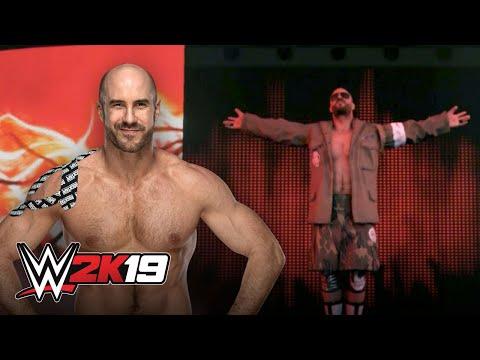 Cesaro awakens The Demon's entrance in WWE 2K19