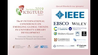 ICEGTULD 2019 at Nazarbayev University Library