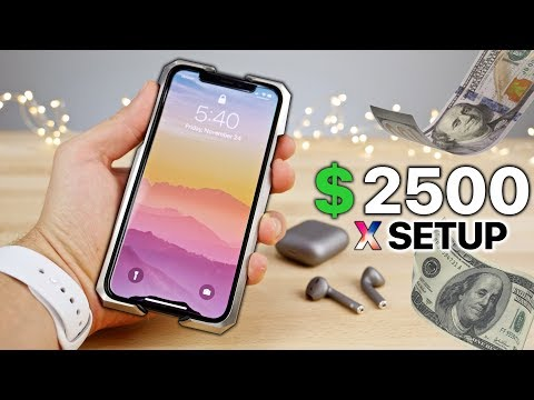 official photos 09774 26dcc My $2500 iPhone X Setup! + NEW iPhone X Giveaway - YouTube
