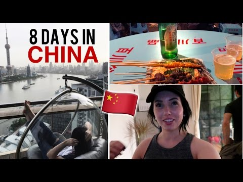 8 DAYS IN SHANGHAI, CHINA! Fake Market, Amazing Food, Hidden