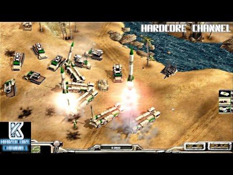 Command & Conquer Generals: Zero Hour - прохождение - Hardcore - ГЛА =2= Мастер засад
