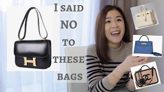 Bags I didn't buy (Hermes Constance, Birkin 25, Kelly Mini, Chanel Vanity Case)沒買的包包