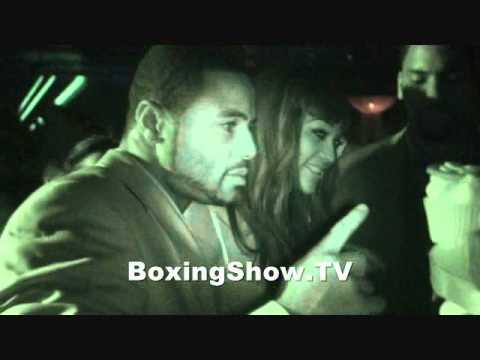 Jean Pascal after Party win vs Chad Dawson @ BoxingShow.TV